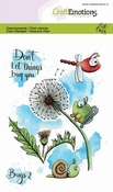 CraftEmotions stempel A6   Carla Creaties   Bugs 2