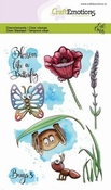 CraftEmotions stempel A6 | Carla Creaties | Bugs 3