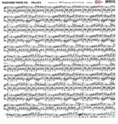 13@rts | Transparante sheet Melody | 13 arts
