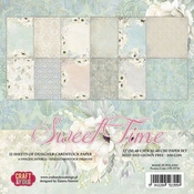Craft & You | Paperpad 12 x 12 inch - Sweet Time