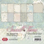 Craft & You | Paperstack 6 x 6 inch - Sweet Time