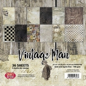 Craft & You | Paperpad 6 x 6 inch - Vintage Man