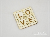Chipboard | Softboard Love #3 | SnipArt
