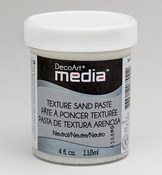 Texture Sand Paste White - Decoart