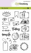 CraftEmotions clearstamps A6 | Handletter | Travel