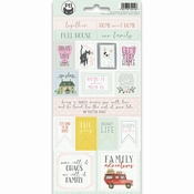 Stickers Family 02 - sheets 10,5 x 23 cm