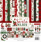Echo Park Collection Kit Here Comes Santa Claus