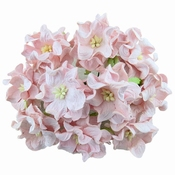 Mulberry Paper Gardenia - Pale Pink   6cm