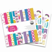 Paperpad Girl Gang 12 x 12 inch