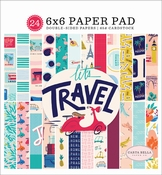 Carta Bella paperpad Let's Travel