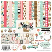Carta Bella Collection Kit Flower Market