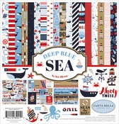 Carta Bella Collection Kit Deep Blue Sea