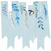 P13| Decorative Tags North Pole | 9 stuks | Banner | ± 7cm