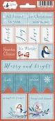 Stickers  North Pole nummer 2 - sheets 10,5 x 23 cm