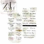 ZoJu Forest Dream | Dubbelz. sheets met quotes