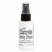 Distress Spray Stain Picket Fence