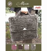Stafil Set Tas Alexia | Motted Zwart