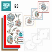 Stitch and Do 123 - Berries and Feathers