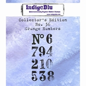 IndigoBlu Collectors Edition no 36 Grunge Numbers