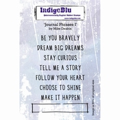 IndigoBlu Journal Phrases I By Mike Deakin