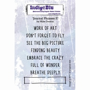 IndigoBlu Journal Phrases II By Mike Deakin