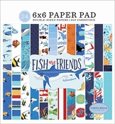 Carta Bella paperpad Fish are Friends