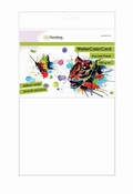 CraftEmotions WaterColorCard - briljant wit 10 vl 32x46