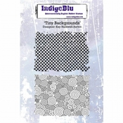 IndigoBlu stempel Tiny Backgrounds - 2 stempels