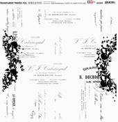 13@rts | Transparante sheet Wreaths | 13 arts
