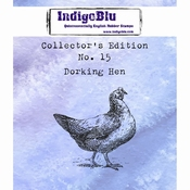 IndigoBlu stempel Collector's Edition 15 Dorking Hen