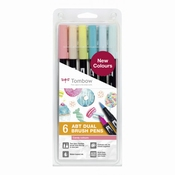 Tombow ABT Dual Brush 6st set Candy Colour
