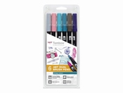 Tombow ABT Dual Brush 6st set Vintage Colour