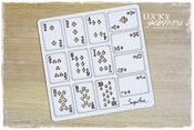 SnipArt | Chipboard | softboard Lucky Games Speelkaarten