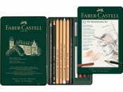 Pitt Monochrome set Faber-Castell 12-delig medium