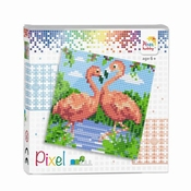 Pixelhobby set | Flamingo's