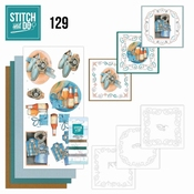 Stitch and Do 129 Jeanine's Art Gift for men