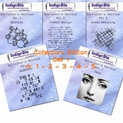 IndigoBlu stempel Collector's Edition  SET 1 | 2 | 3 | 4 | 5