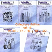 IndigoBlu stempel Collector's Edition  SET 16 | 17 | 18 | 19