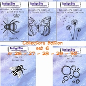 IndigoBlu stempel Collector's Edition  SET 26 | 27 | 28 | 29