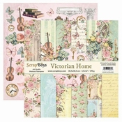 Scrapboys | Victorian Home Paperset 12 x 12 inch