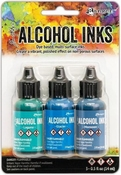 Ranger Alcohol Ink Kit Teal Blue Spectrum