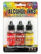 Ranger Alcohol Ink Kit Orange / Yellow Spectrum