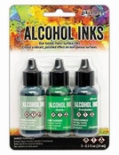 Ranger Alcohol Ink Kit Mint/Green Spectrum