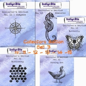 IndigoBlu stempel Collector's Edition  SET 11 | 12 | 13 | 14