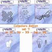 IndigoBlu stempel Collector's Edition  SET 31 | 32 | 33 | 34