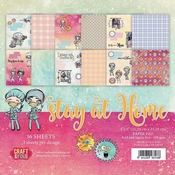 Craft & You | Paperstack 6 x 6 inch - Stay at Home
