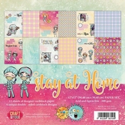 Craft & You | Paperpad 12 x 12 inch - Stay at Home
