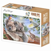 Puzzel 1000 pc - Amy Design - Wild Animals - Koala