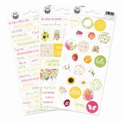 P13 | Sticker Four Season Summer 1 - sheets 10,5 x 23 cm