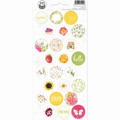 P13 | Sticker Four Seasons Summer #3 - sheets 10,5 x 23 cm